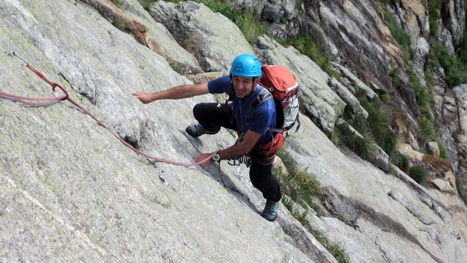 Escalade - Dent d'Orlu - Le mythe : Les enfants de la Dalle - Course - Bureau des Guides des Pyrénées Ariégeoises - 4