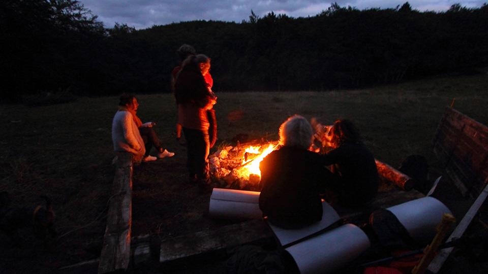 Rando Grillade à la cabane du berger avec l'équipe du Bureau des Guides des pyrénées ariégeoises