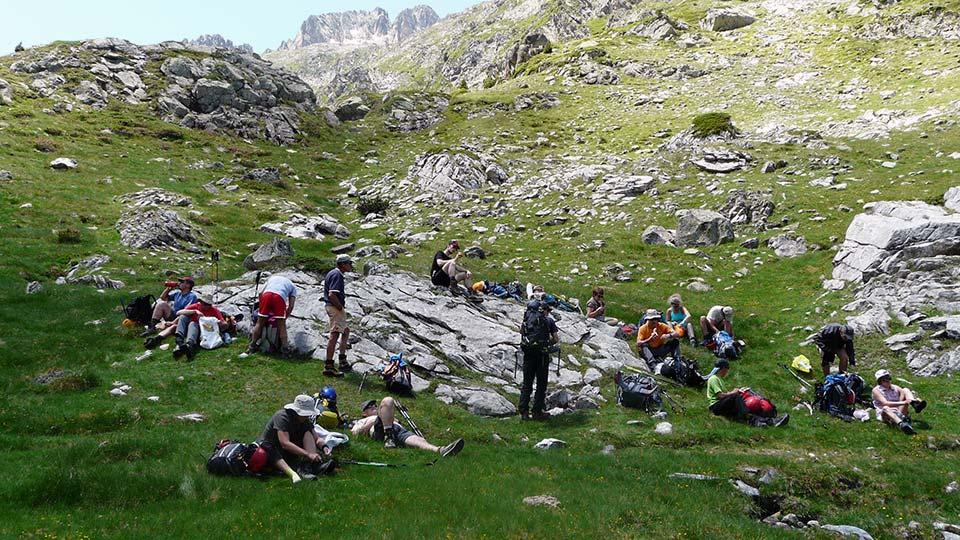Randonn e rando des lacs haute ari ge ou andorre for Bureau pyrenees