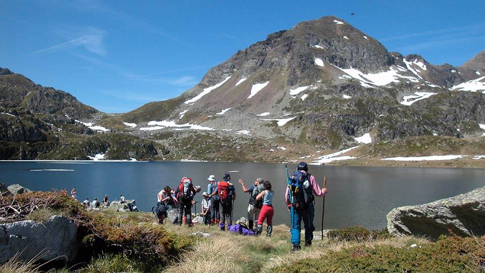 Randonnée - Rando des lacs - Estives - Montagne - Bureau des guides Ariège Pyrénées - 5