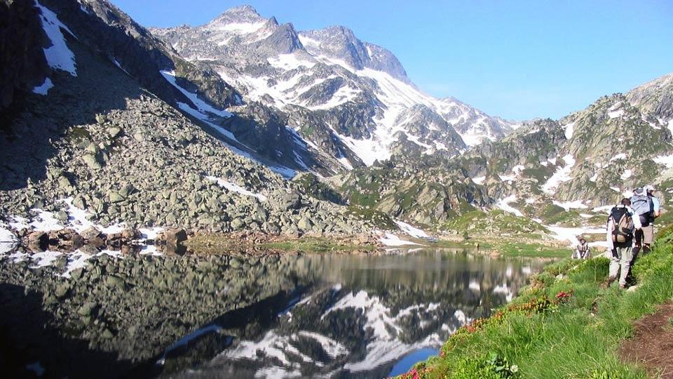 Randonnée - Rando des lacs - Lac d'En Beys -Estives - Montagne - Bureau des guides Ariège Pyrénées - 4