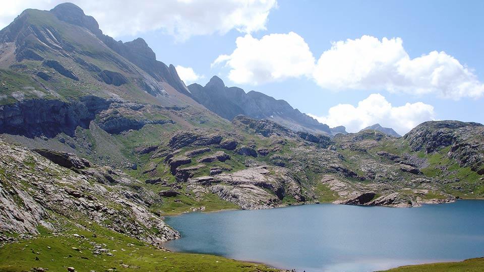 Randonnée - Rando des lacs - Estanet - Estives - Montagne - Bureau des guides Ariège Pyrénées - 6