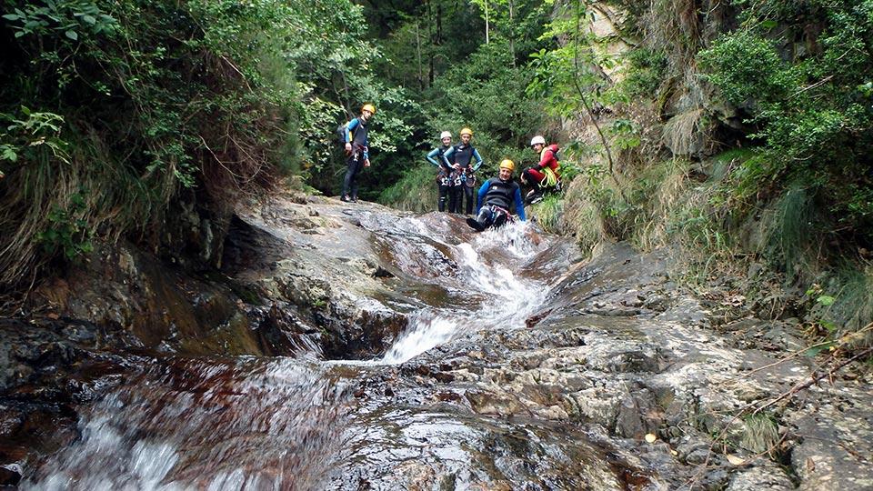 Canyoning - Canyon de l'Argensou Intégral - Bureau des Guides Ariège Pyrénées