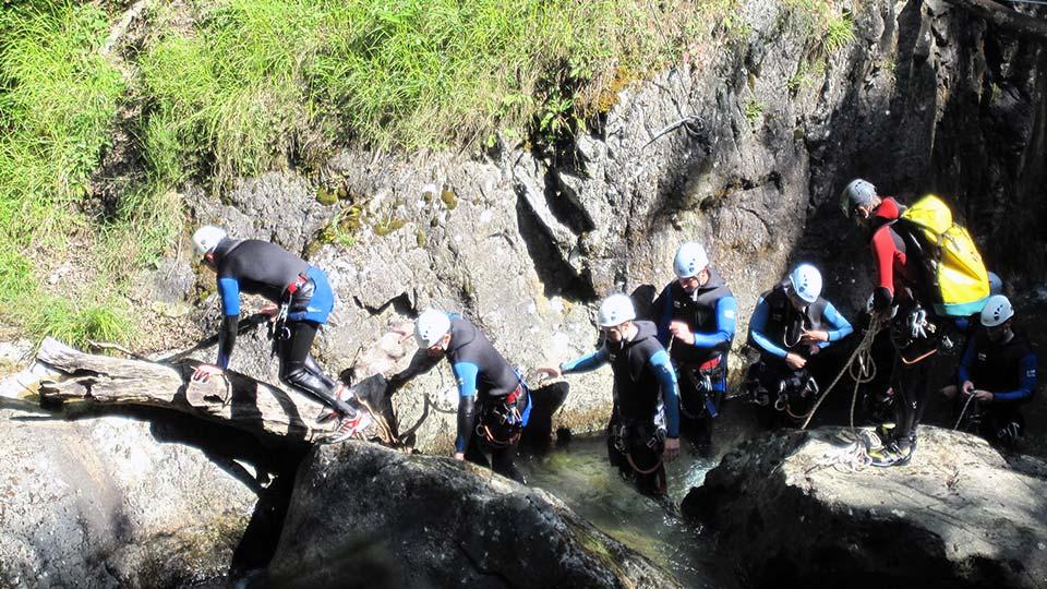 Canyon Orlu - Bureau des Guides des Pyrénées Ariégeoises - 4