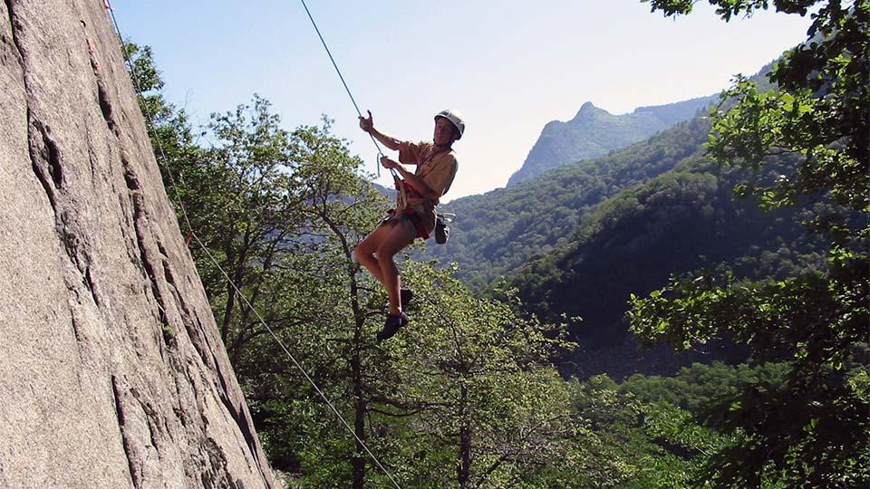 Escalade -Rocher école journée - Bureau des Guides Ariège Pyrénées - 1