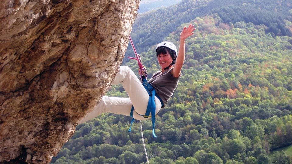 Escalade -Rocher école journée - Bureau des Guides Ariège Pyrénées - 4