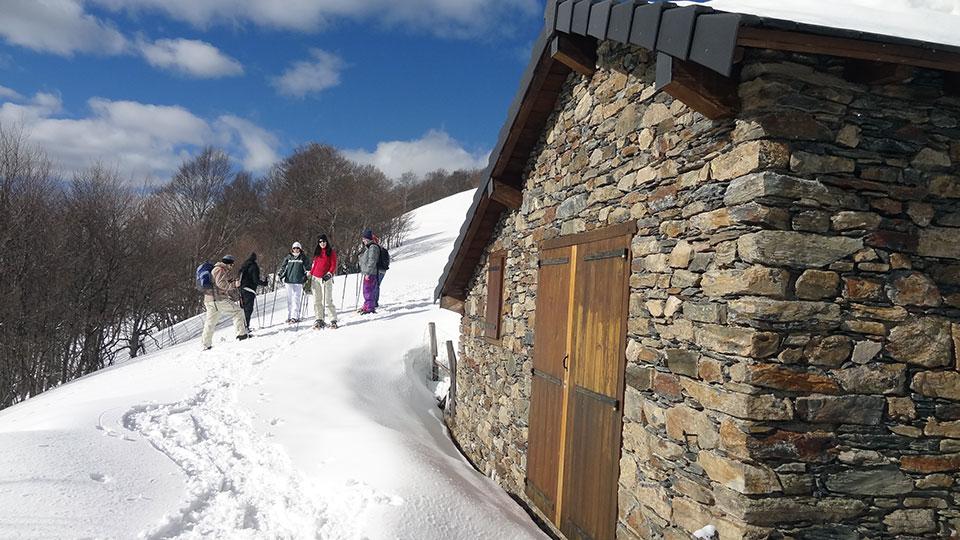 Raquettes-descente-Ascou-Bureau-Guides-Ariege-Pyrenees-8