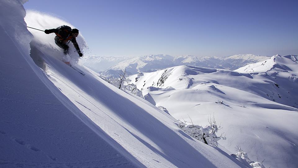 Ski hors pistes - freeride avec le Bureau des Guides des Pyrénées Ariégeoises