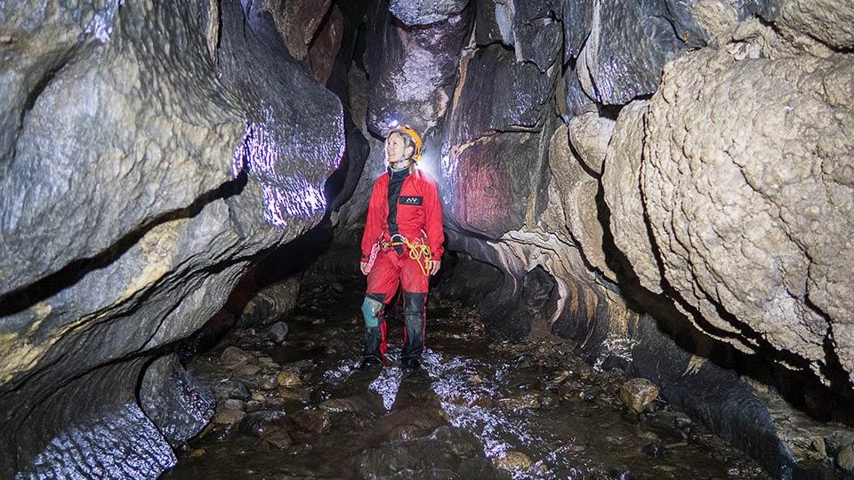 Spéléologie - Vicdessos avec les puits - Bureau des Guides Ariège Pyrénées