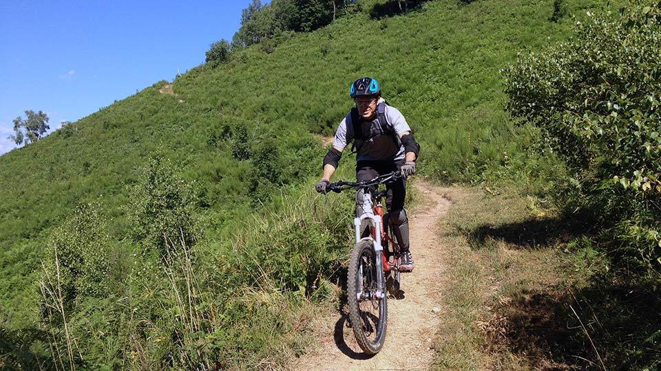 VTT de montagne - Descente du Col du Chioula - Bureau des Guides