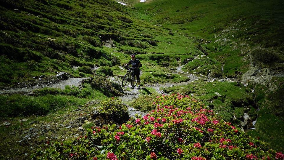 Vtt montagne descente beille bureau guides ariege pyrenees for Bureau pyrenees