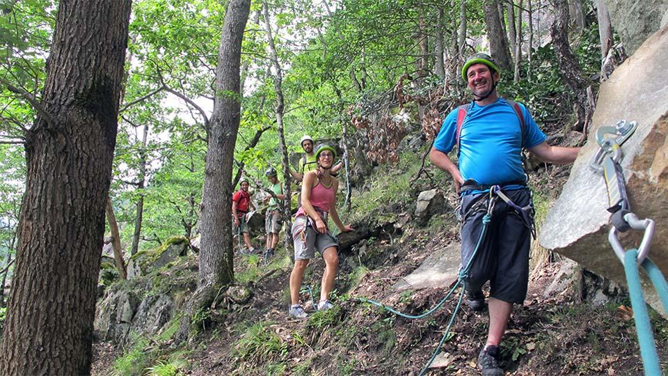 Via Corda - Aston Project - Parcours Aventure - Bureau des Guides Pyrénées Ariège - 1
