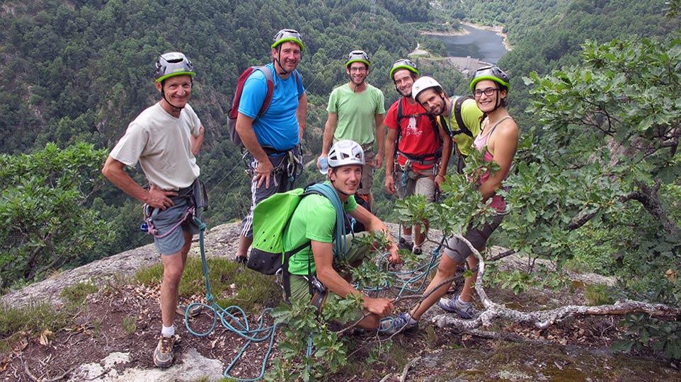 Via Corda - Aston Project - Parcours Aventure - Bureau des Guides Pyrénées Ariège - 2