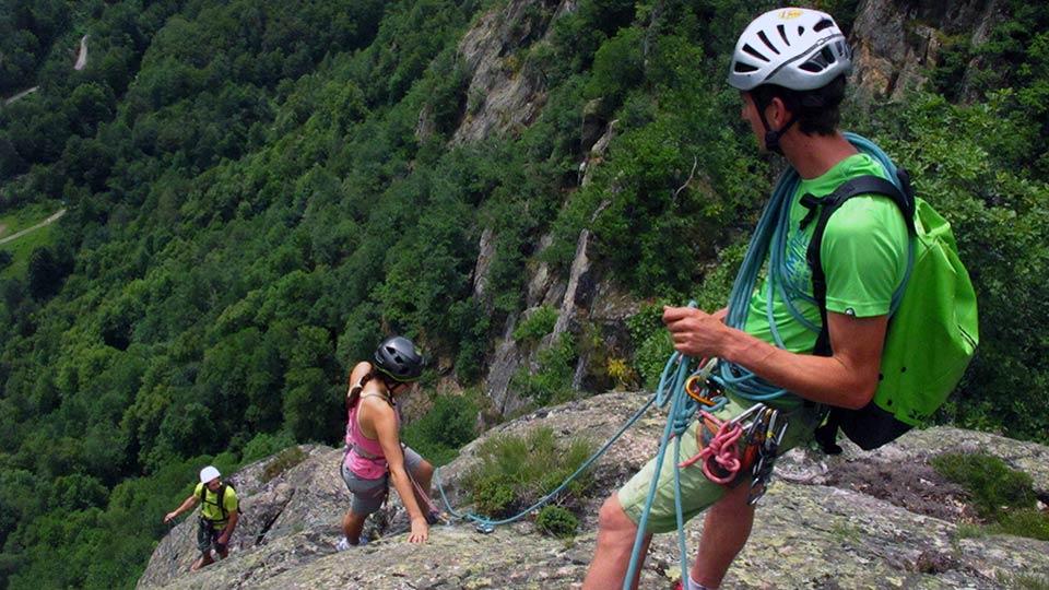 Via Corda - Aston Project - Parcours Aventure - Bureau des Guides Pyrénées Ariège - 3
