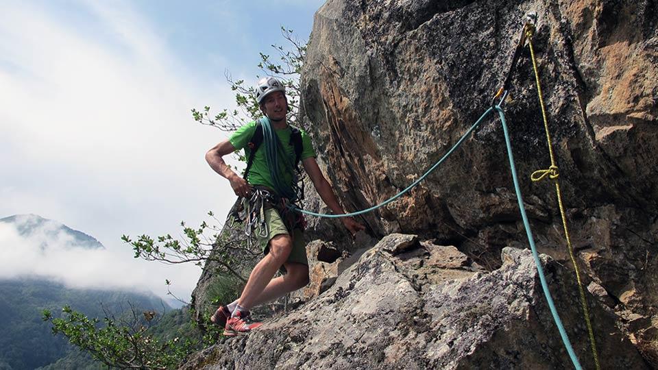 Via Corda - Aston Project - Parcours Aventure - Bureau des Guides Pyrénées Ariège - 5