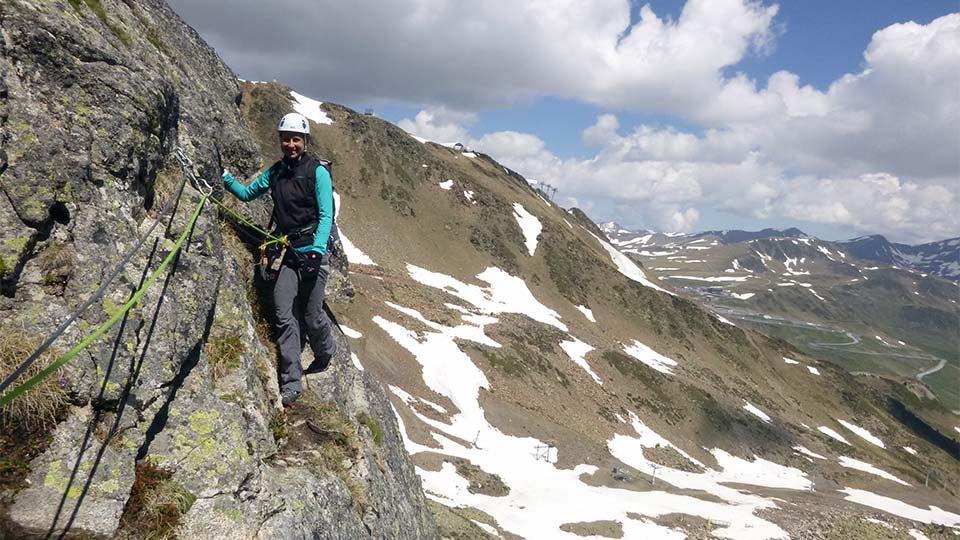 Via Ferrata - Haute montagne en Andorre - Bureau des Guides Ariège Pyrénées - 3