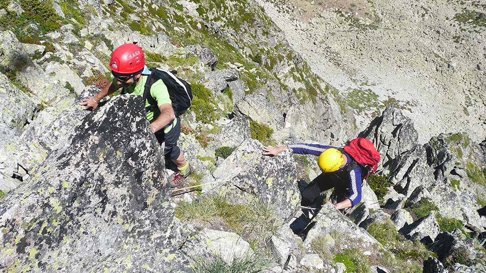 Via Ferrata - Haute montagne en Andorre - Bureau des Guides Ariège Pyrénées - 4