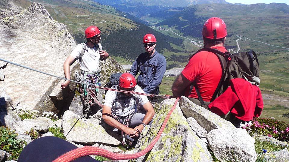 Via Ferrata - Haute montagne en Andorre - Bureau des Guides Ariège Pyrénées - 5