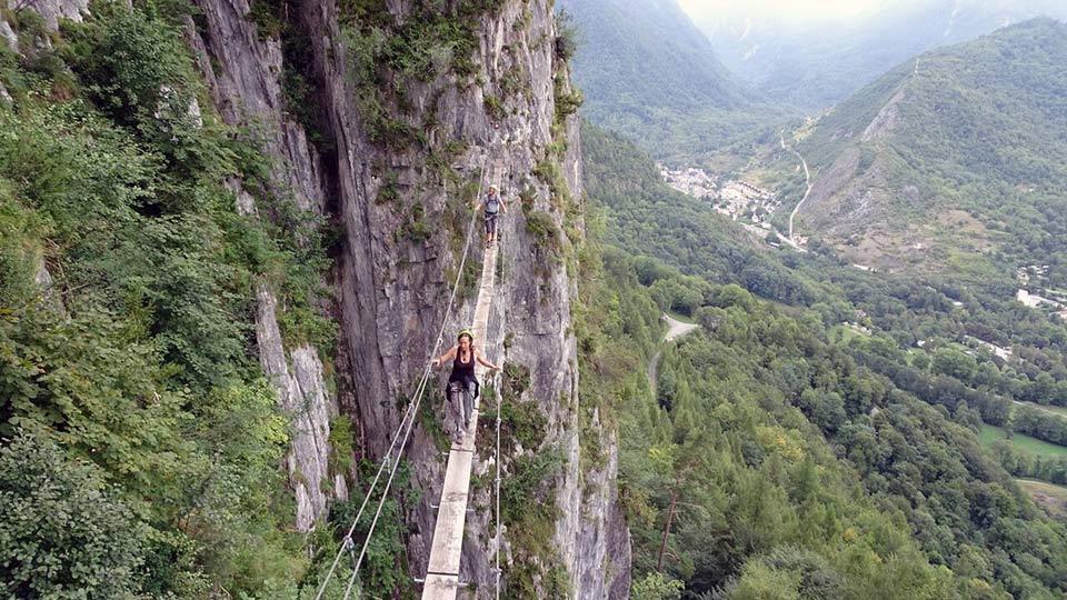 Via Ferrata - Vicdessos face Nord - Bureau des Guides des Pyrénées Ariégeoises - 5