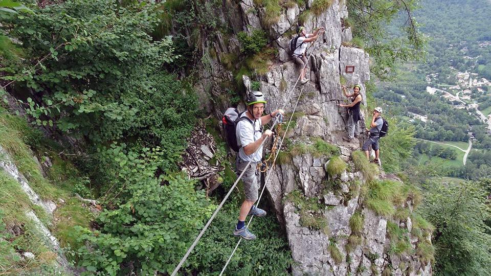 Via Ferrata - Vicdessos face Nord - Bureau des Guides des Pyrénées Ariégeoises - 4