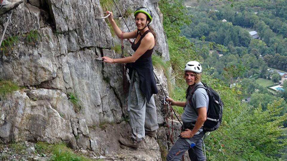 Via Ferrata - Vicdessos face Nord - Bureau des Guides des Pyrénées Ariégeoises - 6