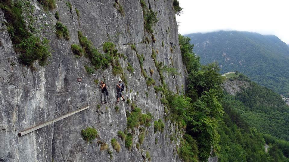 Via Ferrata - Vicdessos face Nord - Bureau des Guides des Pyrénées Ariégeoises - 2