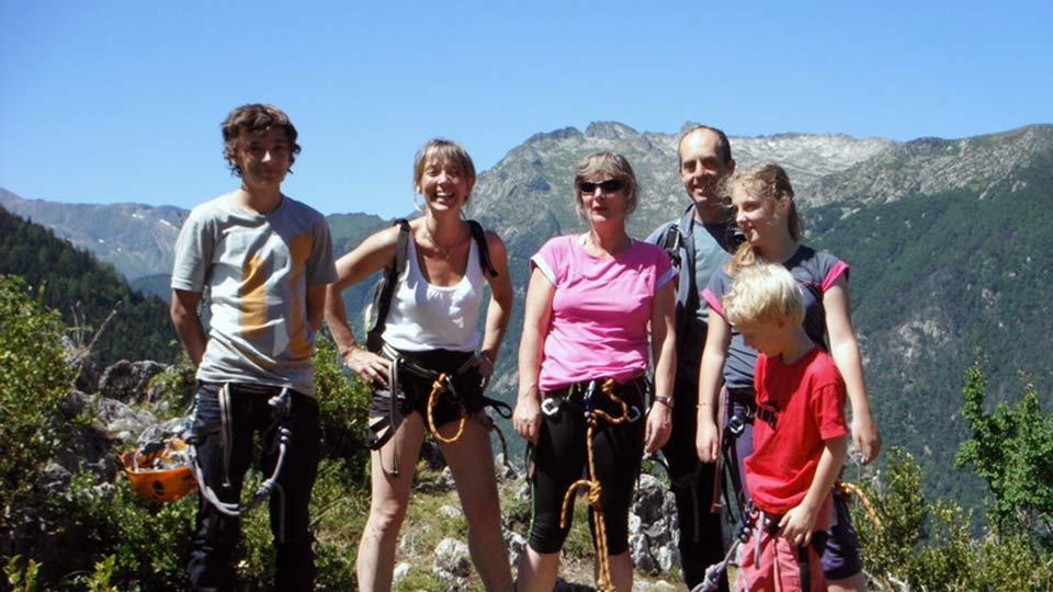 Via Ferrata Initiation Face Sud Bureau des Guides Ariège Pyrénées