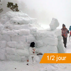 CONSTRUCTION D'IGLOOS A AX 3 DOMAINES