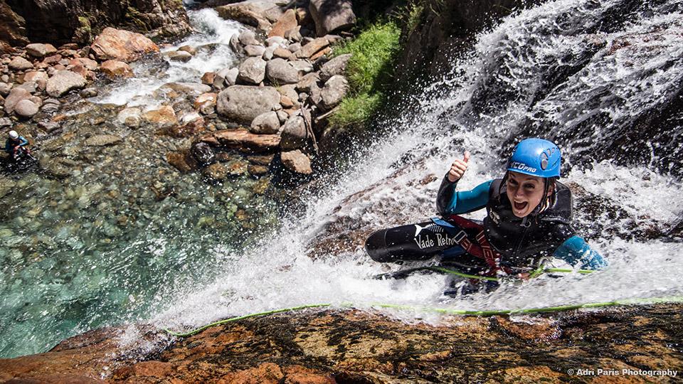 Canyon-de-l'Artigue-toboggan-Bureau-des-Guides-Ariege-Pyrenees