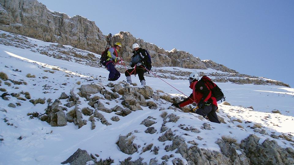 Alpinisme Hiver - Sierra de Cadi - Couloirs - Bureau des Guides Ariège Pyrénées - 2