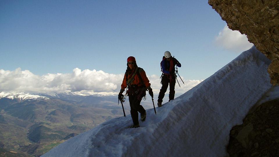 Alpinisme Hiver - Sierra de Cadi - Couloirs - Bureau des Guides Ariège Pyrénées - 3
