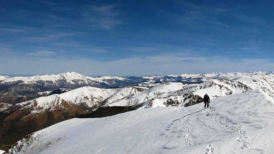 Alpinisme Hiver - Couloir des Pyrénées - Bureau des Guides des Pyrénées Ariégeoises - 2