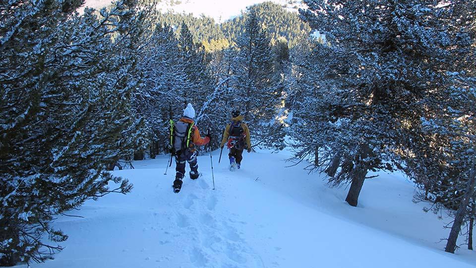 Alpinisme Hiver - Mes premiers pas d'alpiniste à Ax 3 Domaines - Bureau des Guides Ariège Pyrénées - 3