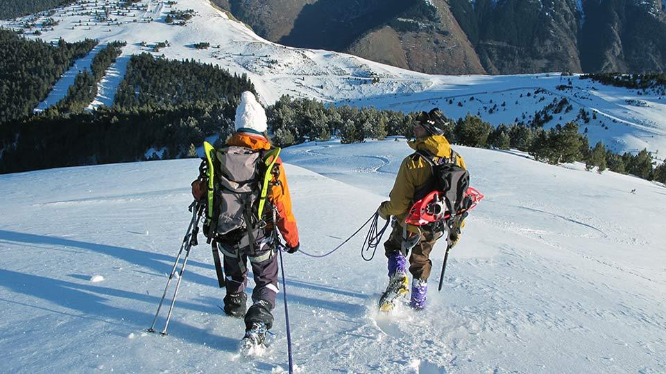 Alpinisme Hiver - Mes premiers pas d'alpiniste à Ax 3 Domaines - Bureau des Guides Ariège Pyrénées - 4