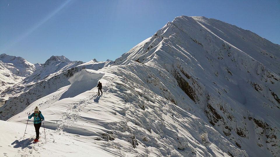 Alpinisme Hiver - Raquette Alpinisme Sommet - Bureau des Guides Ariège Pyrénées - 5