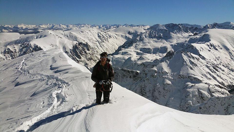 Alpinisme Hiver - Raquette Alpinisme Sommet - Bureau des Guides Ariège Pyrénées - 10