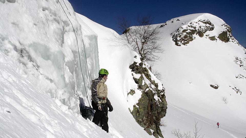 Cascade du Touyre avec le Bureau des Guides des Pyrénées Ariégeoises