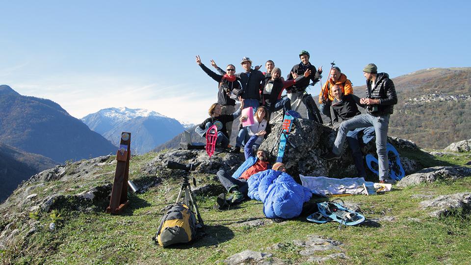 photos de l'équipe, membres actifs et salariés du bureau des guides ariége pyrénées