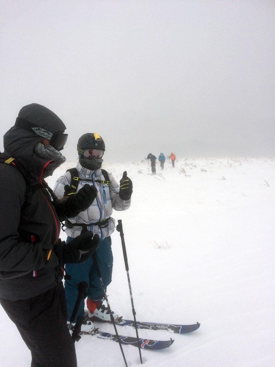 Sortie ski de randonnée Scaramus - Bureau des Guides Ariege Pyrénées