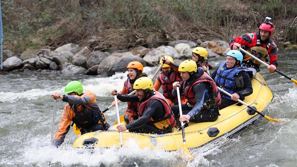 Descente rafting sur l'Ariège - Guides Ariège Pyrénées