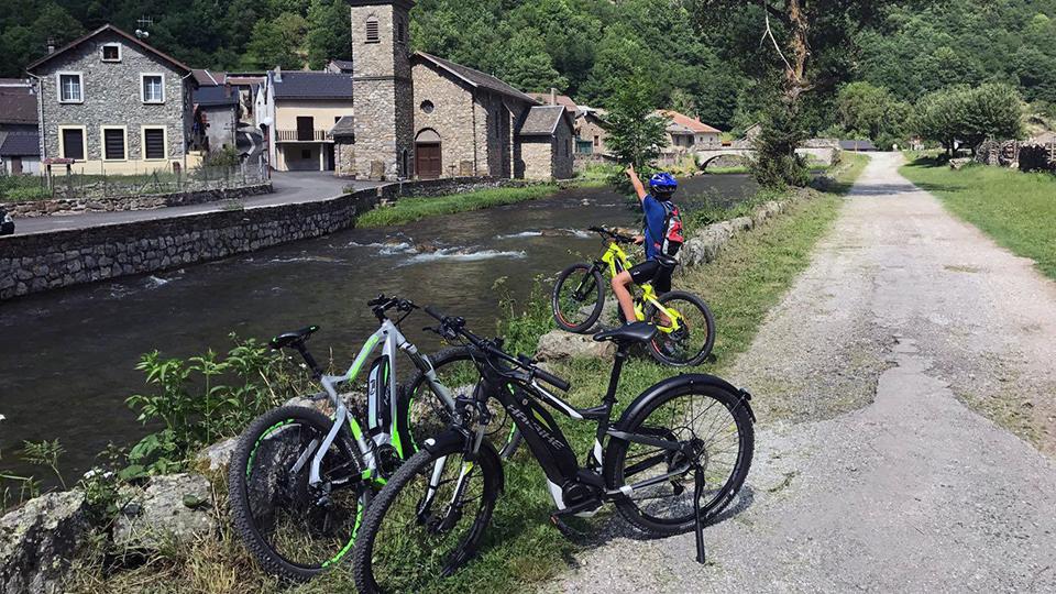 VTT électrique à Ax les Thermes en Ariège