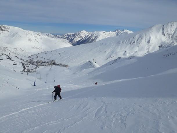 Ski en octobre, reste sobre !