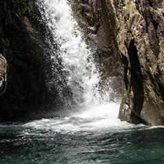 De la roche et de l'eau…