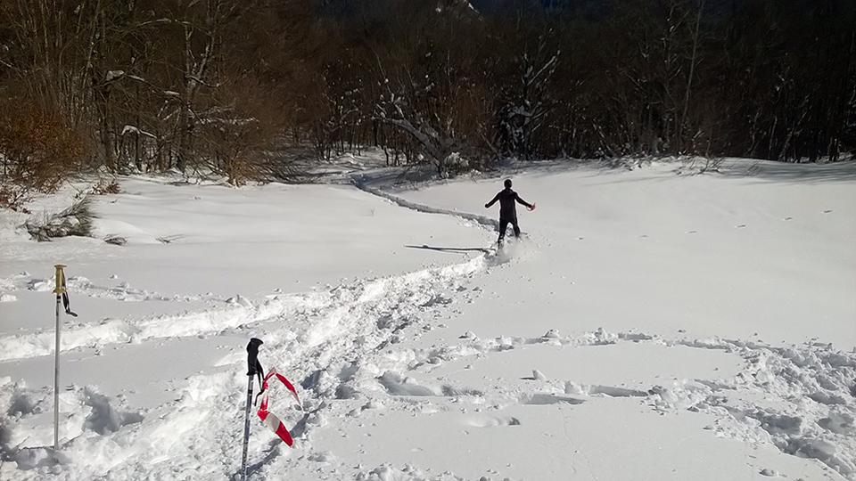 Multi-activité pour les groupes - Olympiades nordiques avec le parcours d'orientation encadré par le Bureau des Guides Ariège Pyrénées sur le secteur du Chioula