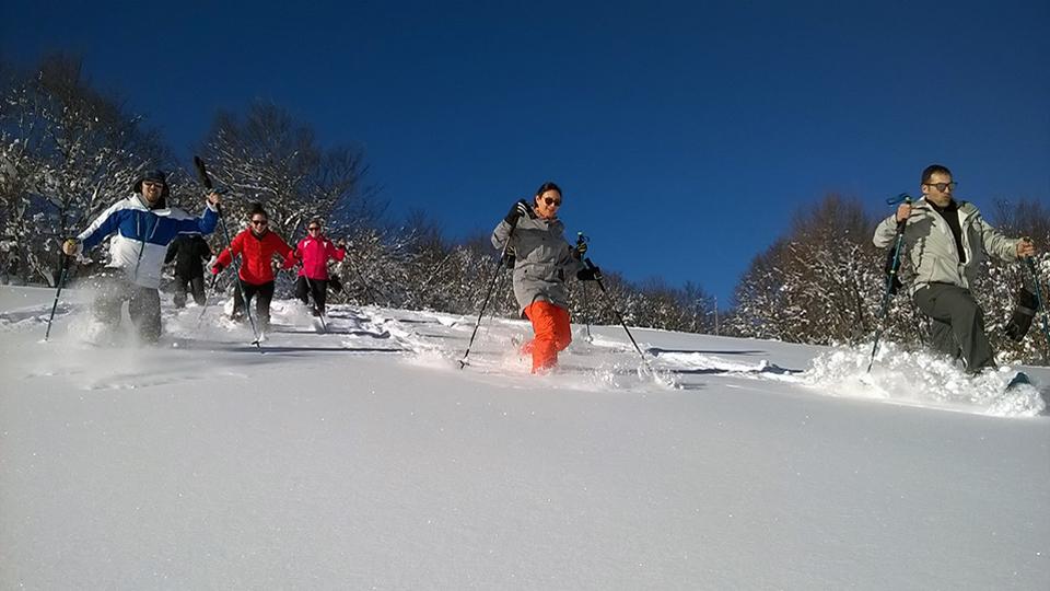 Experience Chioula en raquettes à neige - Ariège Pyrénées